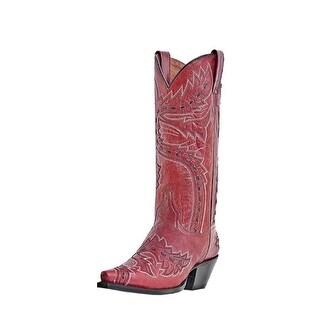 Dan Post Western Boots Womens Fashion Sidewinder Volcano Red