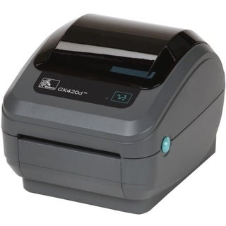 Zebra GK420t Thermal Transfer Printer - Monochrome - Desktop - (Refurbished)
