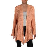Free People Womens In My Element Cardigan Sweater Open Front Kimono Sleeve