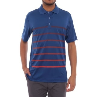 Adidas Puremotion Climacool Gradient Stripe Short Sleeve Polo Men Regular
