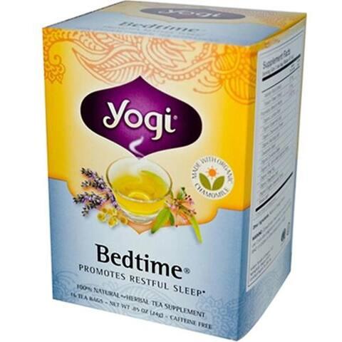 Yogi - Bedtime Caffeine Free Tea ( 3 - 16 BAG)