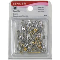 Safety Pins-Sizes 00 To 3 50/Pkg