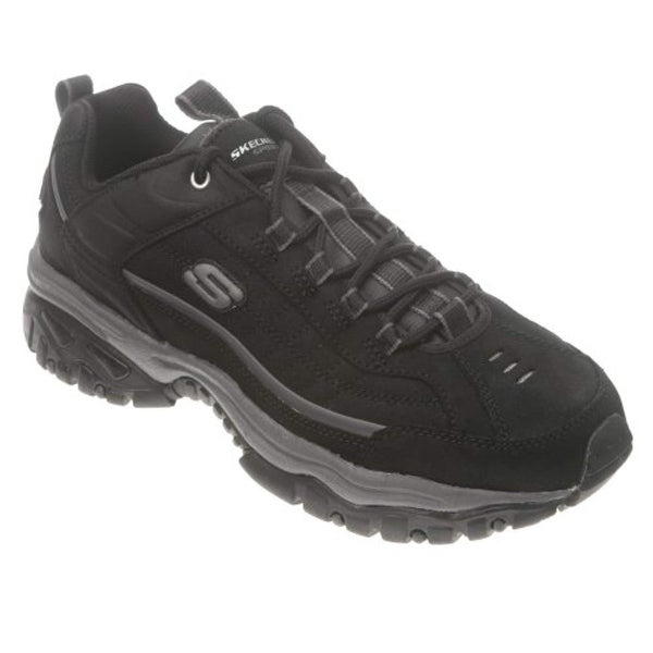 0fe7af52326 Shop Skechers Men's Energy Downforce Lace Up (7.5Ew, Black) - Free Shipping  Today - Overstock - 26432685
