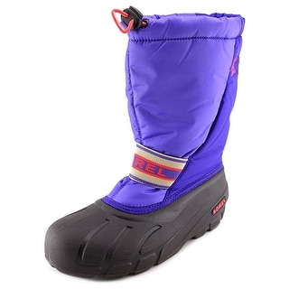 Sorel Youth Cub Youth Round Toe Synthetic Purple Snow Boot