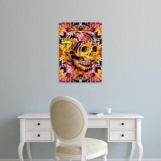 Easy Art Prints Ali Gulec's 'Skull VI' Premium Canvas Art