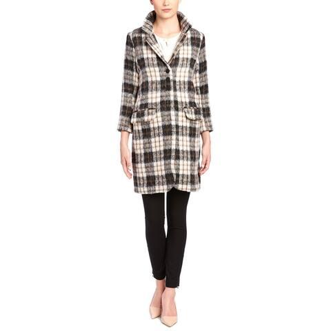 Julie Brown Wool-Blend Coat