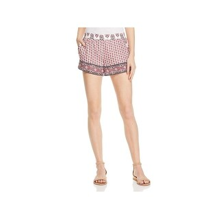 Joie Womens Beatra Casual Shorts Printed Pull On