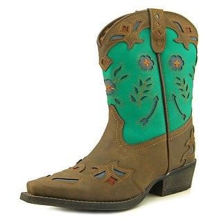 Laredo Little Kate EW Pointed Toe Leather Western Boot