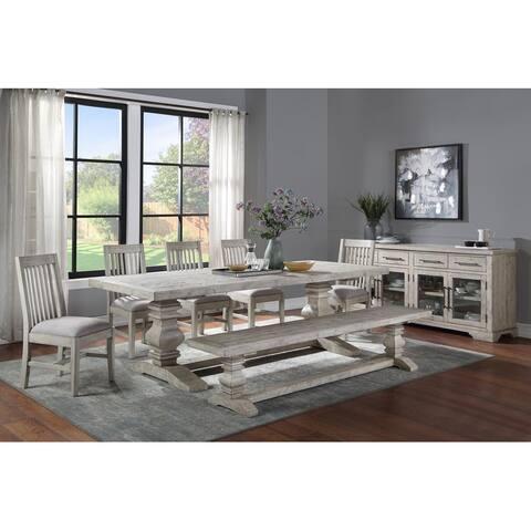 Sagrada Dining Table BY Kosas Home - Sierra Grey