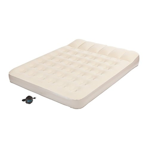 shop aerobed 8223 guest bed air inflatable mattress queen size white free shipping today. Black Bedroom Furniture Sets. Home Design Ideas
