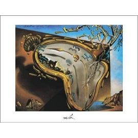 ''Clock Explosion'' by Salvador Dali Huntington Graphics Art Print (11 x 14 in.)