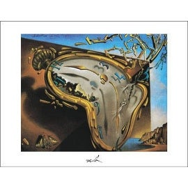 ''Clock Explosion'' by Salvador Dali Museum Art Print (11 x 14 in.)