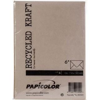 Kraft Brown - Papicolor A6 Envelopes 6/Pkg