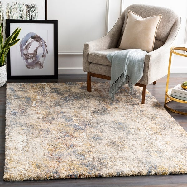 Lari Plush Abstract Area Rug. Opens flyout.