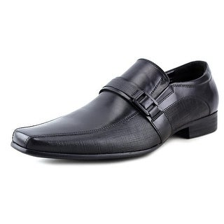 Kenneth Cole NY Magic-Ly Men Round Toe Leather Black Loafer
