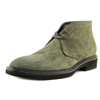 Doucal's Light L Cuc. Round Toe Suede Oxford