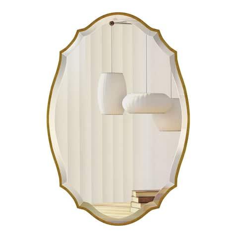 Mirror Trend Irregular Framed Handmade Wall Mirror