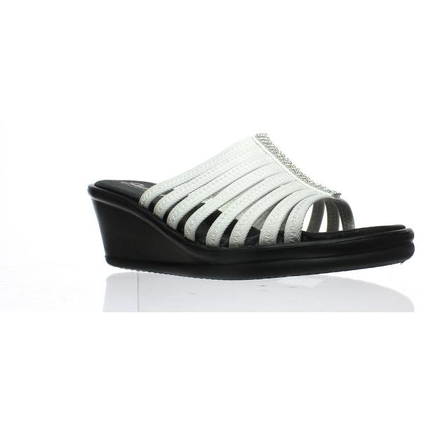 df1aa54108 Shop Skechers Womens Rumblers Hotshot White Heels Size 11 - On Sale ...