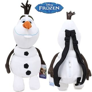 "Frozen 17"" Plush Backpack- Olaf
