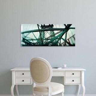 Easy Art Prints Panoramic Image 'View of a suspension bridge, Williamsburg Bridge, New York City, New York ' Canvas Art