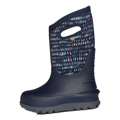 Bogs Outdoor Boots Girls Neo Classic Twinkle Waterproof