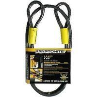 "Master Lock 85DPF Flexible Locking Steel Cable, 3/8"" x 4'"