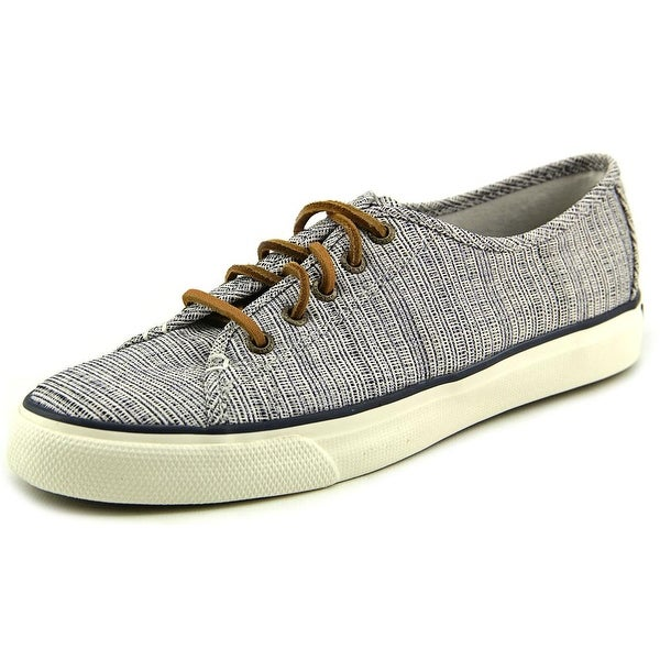 Sperry Top Sider Seacoast Crosshatch Women Canvas Fashion Sneakers