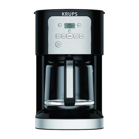 KRUPS EC321050 12-Cup THERMOBREW Programmable Coffee Maker