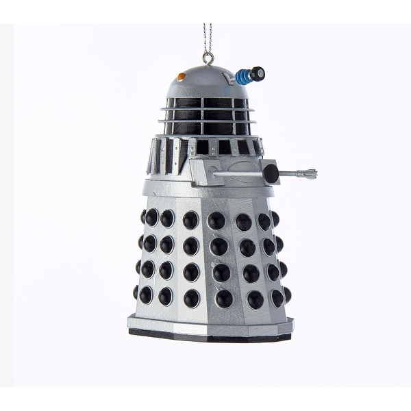 "Doctor Who Silver Warrior Dalek 3.5"" Ornament"