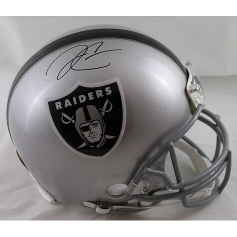 42ea03547 Shop Derek Carr Autographed Oakland Raiders Full Size Proline Helmet BAS -  Free Shipping Today - Overstock - 19587000