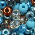Czech Seed Beads 6/0 'Blue Turquoise Grotto' Mix Lot - Thumbnail 0