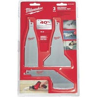 Milwaukee Accessory 3Pc Material Removal Set 49-22-5403 Unit: EACH