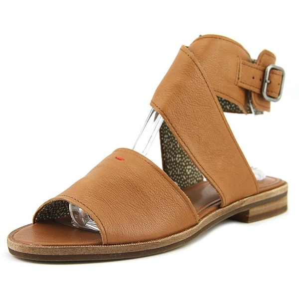 ED Ellen DeGeneres Sanja Women Open-Toe Synthetic Brown Slingback Sandal