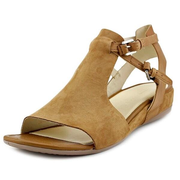 79c8bc92693 Shop Ecco Touch 25 S Women Open-Toe Leather Tan Slingback Sandal ...