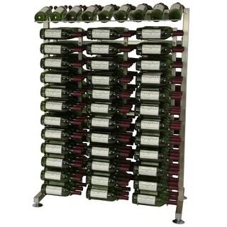 VintageView IDR4 234-Bottle 4-Foot Island Display Rack - N/A