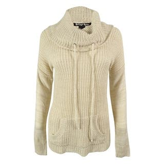 Planet Gold Juniors' Waffle Knit Funnel Neck Sweater|https://ak1.ostkcdn.com/images/products/is/images/direct/50a93eeb403fb342b638307c4027350f6264e515/Planet-Gold-Juniors%27-Waffle-Knit-Funnel-Neck-Sweater.jpg?impolicy=medium
