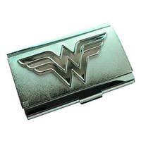 Wonder Woman Logo Metal Card Case - Multi