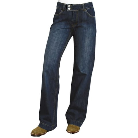 Stetson Western Denim Jeans Womens Dark Wash