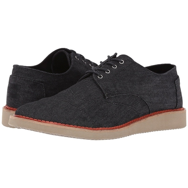 0af8e2fa2da Shop Toms Aviator Twill Men s Brogues 10007000 - Free Shipping Today ...