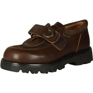 Petit Boys 20509 Made In Spain Quality Shoes - Brown - 26 m eu / 9-9.5 m us toddler