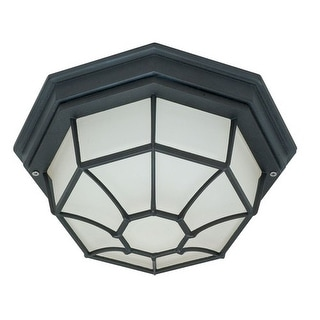 Nuvo Lighting 60/536 1 Light Flush Mount Outdoor Ceiling Fixture - 11.375 Inches Wide
