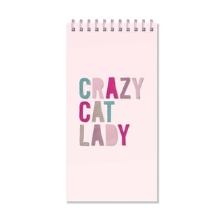 Crazy Cat Lady Spiral Notepad