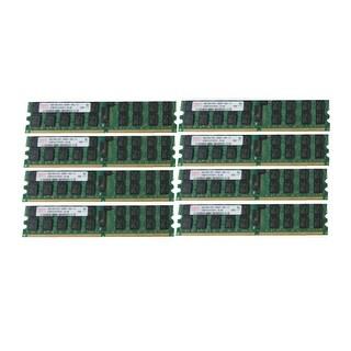 New Dell PowerEdge 2970 6950 M905 R300 T300 32GB (8x4GB) PC2-5300P Server Memory