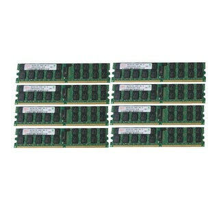 New Dell PowerEdge 2970 6950 M905 R300 T300 32GB (8x4GB) PC2-5300P Server Memory