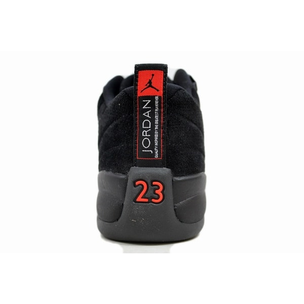 hot sale online 75028 da4fb Shop Nike Grade School Air Jordan XII 12 Retro Low Black/Max ...