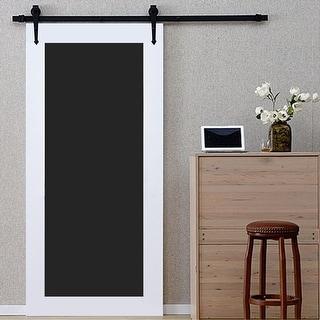 Link to Zenova 6.6FT Sliding Barn Wood Door Arrow Set Basic Sliding Track Similar Items in Doors & Windows