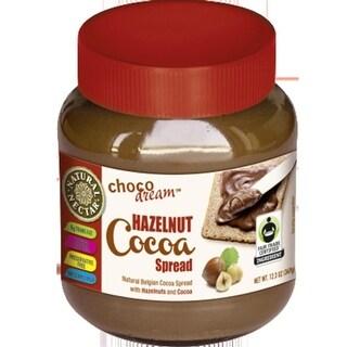 Natural Nectar - Natural Hazelnut Chocolate Spread ( 6 - 12.3 oz jars)
