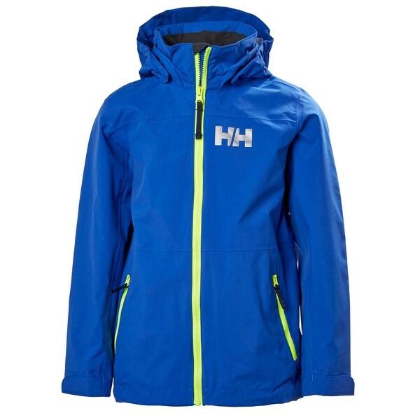 fb8127270382 Shop Helly Hansen Junior Unisex Jr Rigging Rain Jacket - Olympian ...