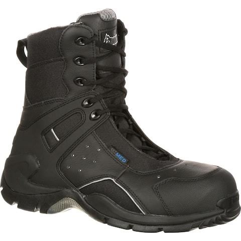 Rocky 1st Med: Carbon Fiber Toe Waterproof Public Service Boot, #FQ0911113