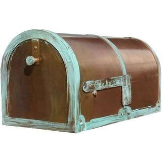 Provincial Collection Brass Mailboxes - rural - MB-3000 in Antiqued